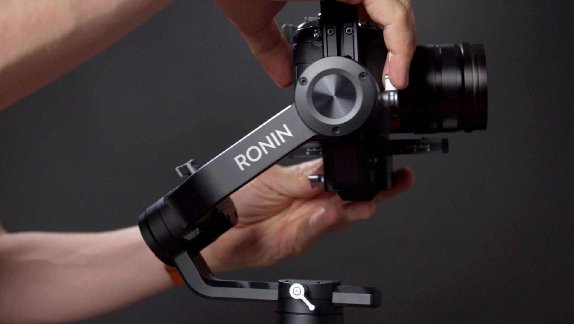 cách dùng Ronin S