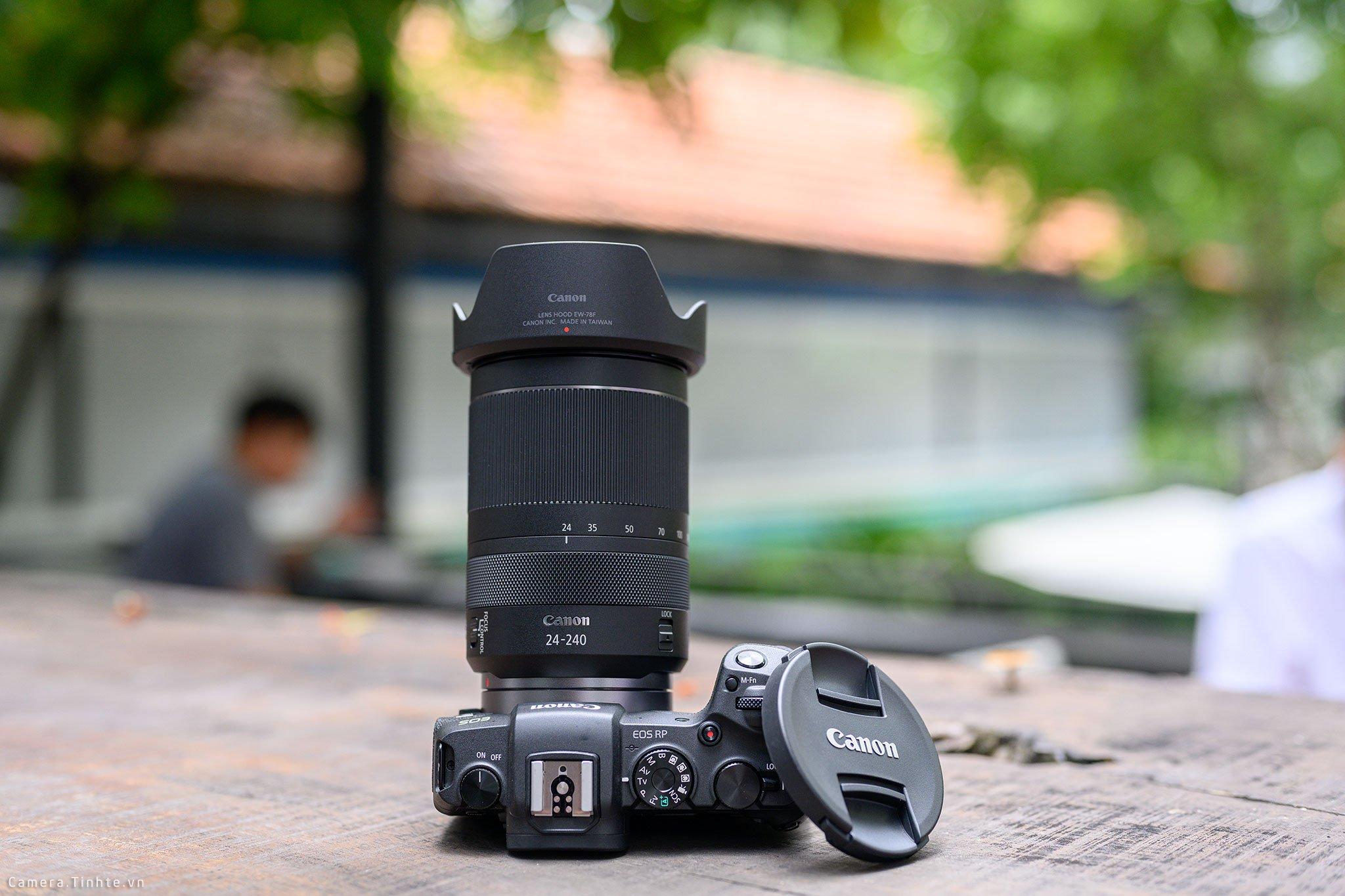 cho thuê Lens canon