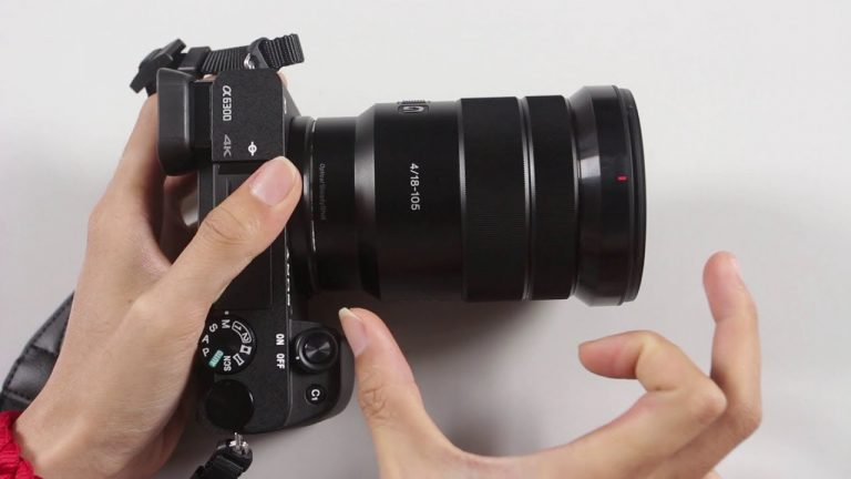 cho thuê lens sony 18-105