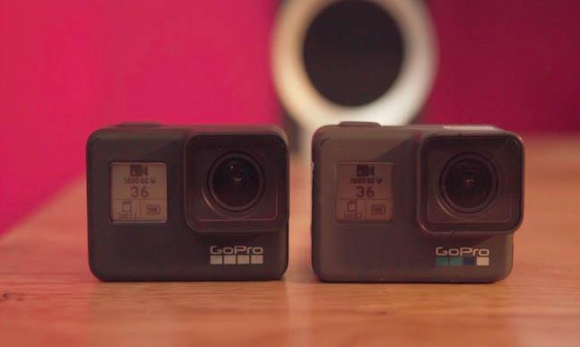 So sánh GoPro Hero 7 và GoPro Hero 6