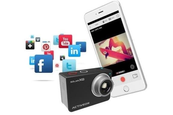Camera hành trình kết nối với smart phone