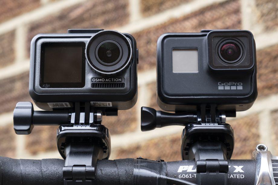 Thiết kế GoPro Hero 7 và DJI Osmo Action