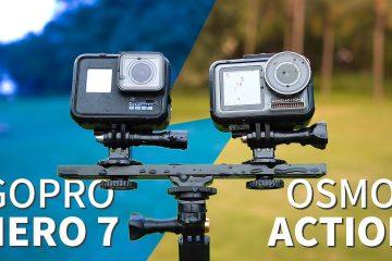 So sánh GoPro Hero 7 Black và DJI Osmo Action