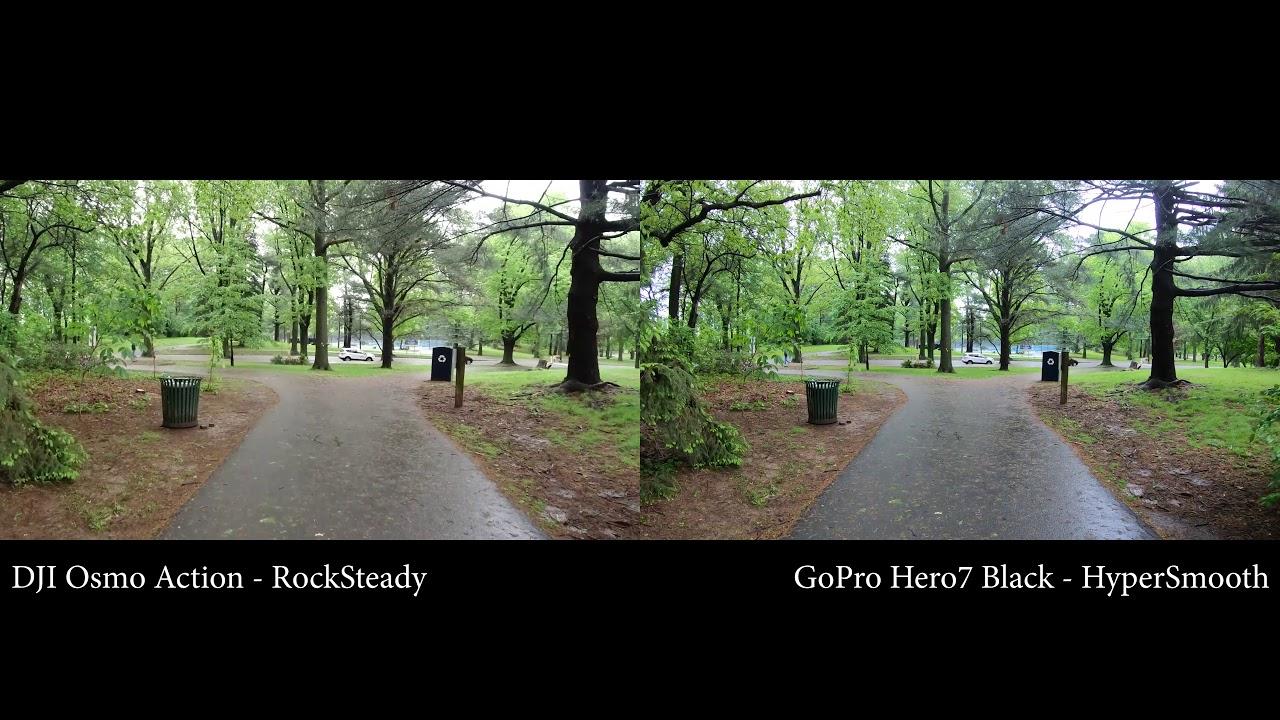 Chất lượng video hình ảnh GoPro Hero 7 Black và DJI Osmo Action