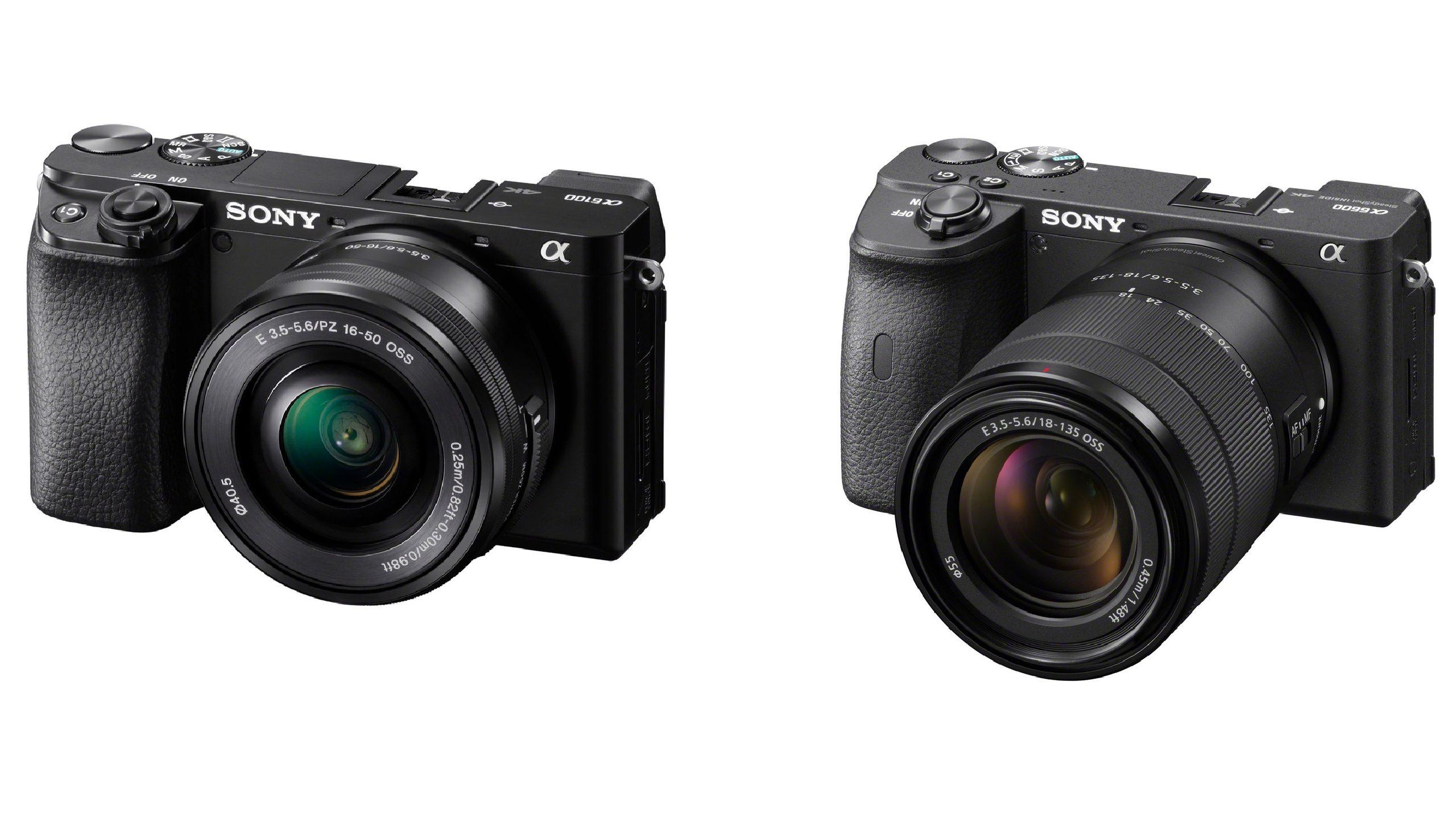 Sony A6600 và Sony A6100
