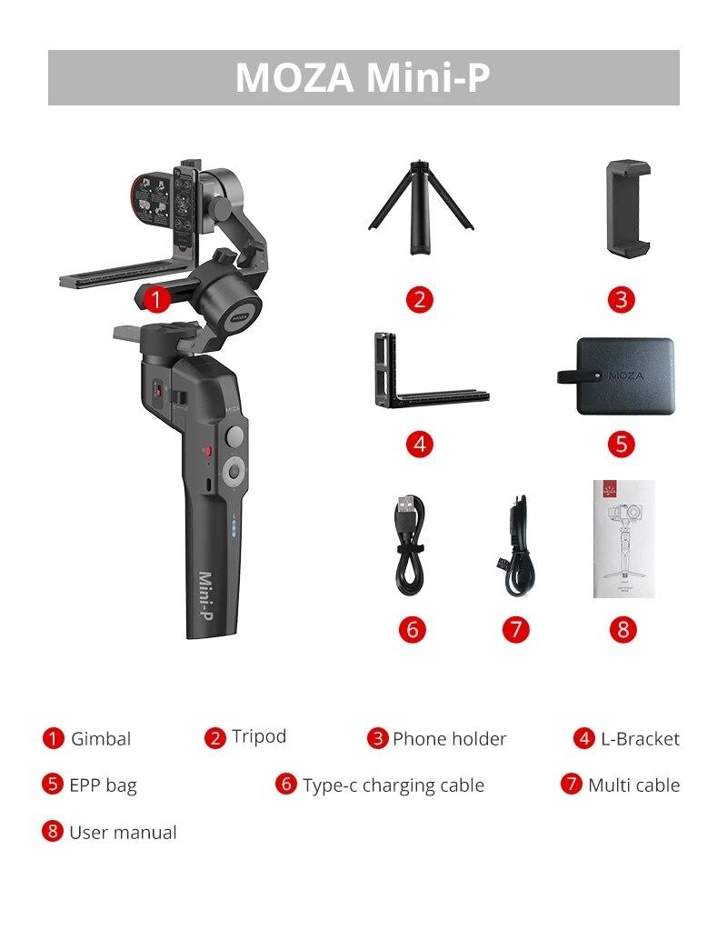 hướng dẫn sử dụng gimbal moza mini-p