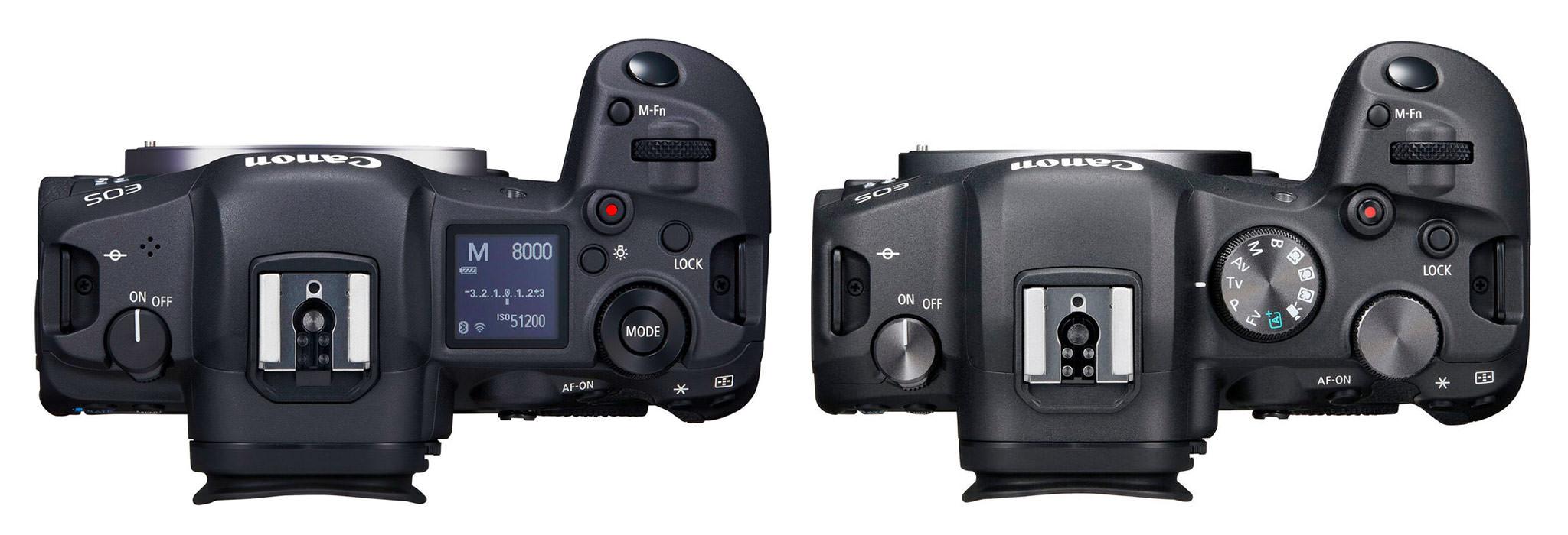 So sánh EOS R5 và EOS R6