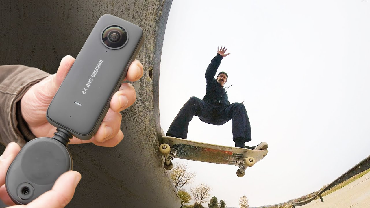 thuê camera 360 insta360 one X2